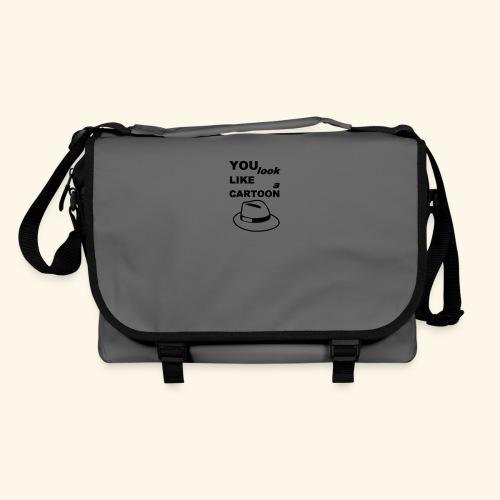 Cartoon Spruch Zitat lustig Geschenk - Shoulder Bag