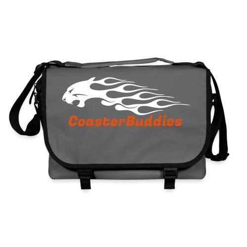 Coaster-Buddies Logo weiß - Umhängetasche