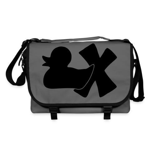 Ente mit X v3 3 klein - Umhängetasche
