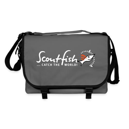 scoutfishslogankompass - Umhängetasche