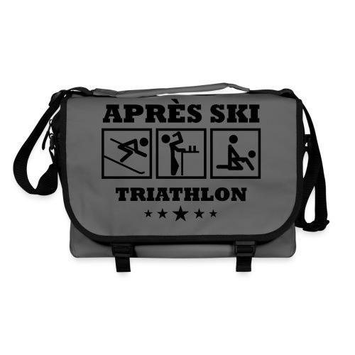 Apres Ski Triathlon | Apreski-Shirts gestalten - Umhängetasche