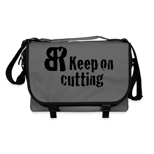keep on cutting 1 - Umhängetasche