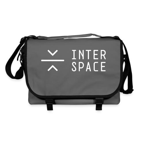 interspace logo 2 black - Axelväska