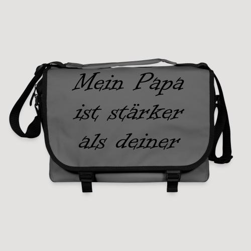 Mein Papa ist stärker als deiner - Umhängetasche