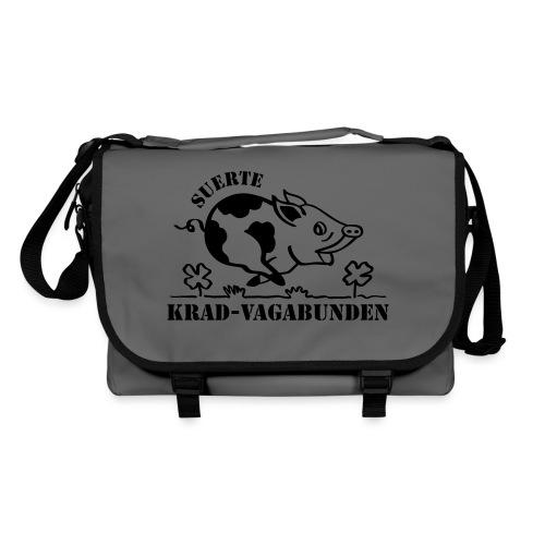 Krad-Vagabunden Glücksschwein V2 - Umhängetasche