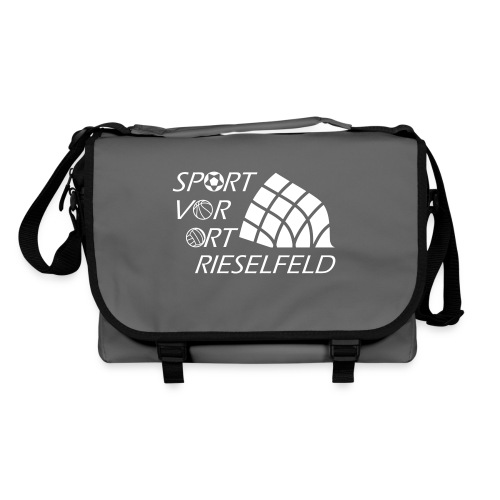 SportvorOrt-Logo_weiß - Umhängetasche