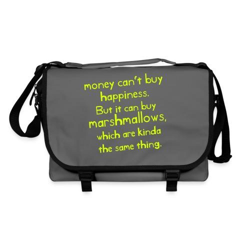 money_cant_buy_happiness - Umhängetasche