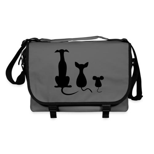 dog cat mouse - Umhängetasche