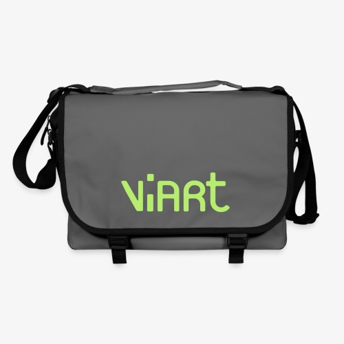 viart_logo_vect_2coul - Umhängetasche