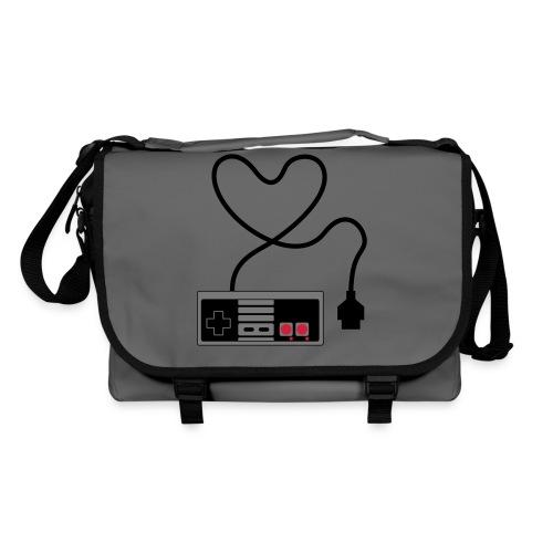 NES Controller Heart - Shoulder Bag