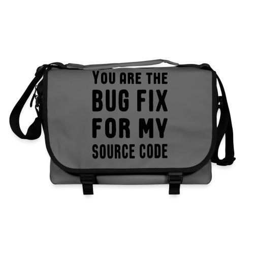 Programmierer Beziehung Liebe Source Code Spruch - Umhängetasche