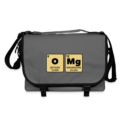 periodic table omg oxygen magnesium Oh mein Gott - Shoulder Bag
