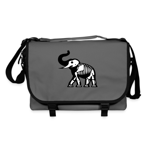 ElephantSquelette - Sac à bandoulière
