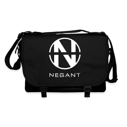White Negant logo - Skuldertaske