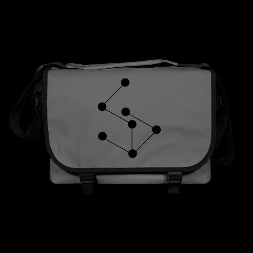 LAN- Laptop Bag, Black Logo - Shoulder Bag