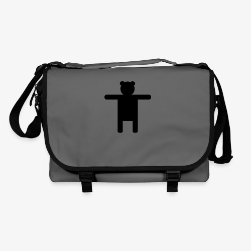 Epic Ippis Entertainment logo desing, black. - Shoulder Bag