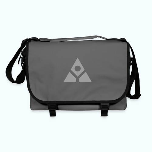 Sacred geometry gray pyramid circle in balance - Shoulder Bag