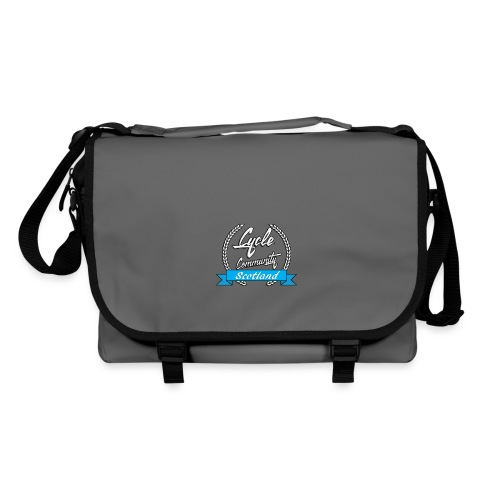 cycle community scotland Big tee - Shoulder Bag