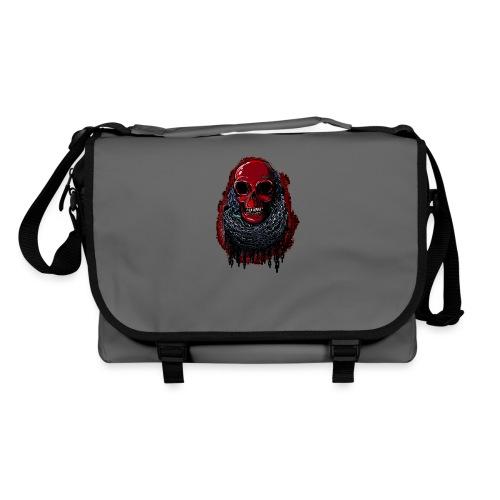 Red Skull in Chains - Shoulder Bag