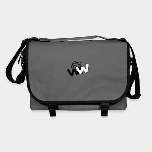 White and Black W with eagle - Shoulder Bag