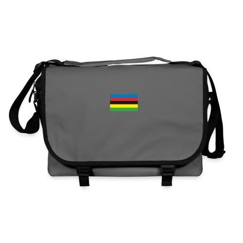 Cycling_World_Champion_Rainbow_Stripes-png - Schoudertas