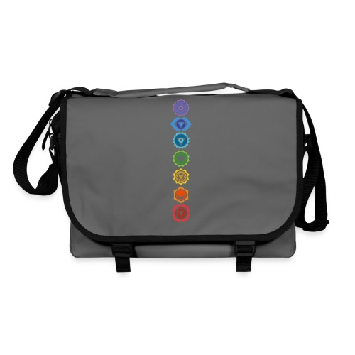 The 7 Chakras, Energy Centres Of The Body - Shoulder Bag