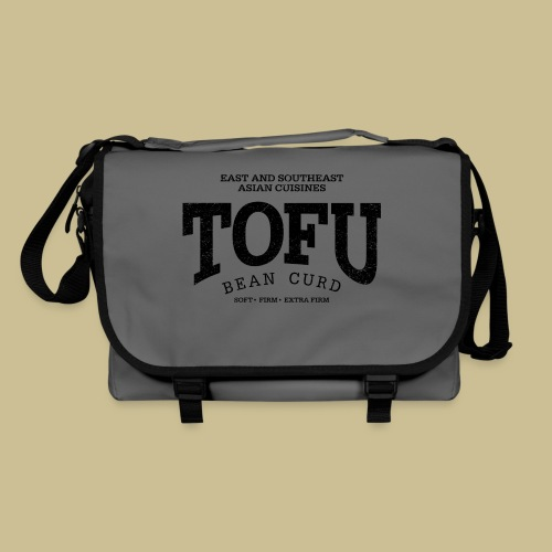Tofu (black oldstyle) - Umhängetasche
