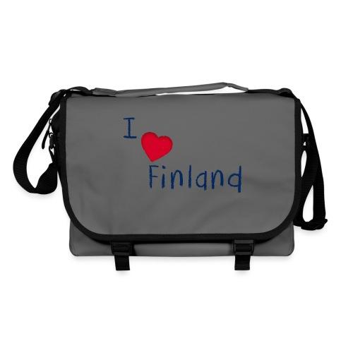 I Love Finland - Olkalaukku