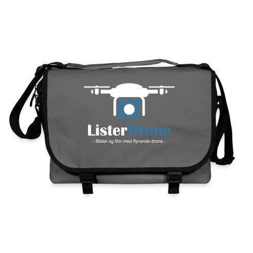 ListerDrone logo - Skulderveske