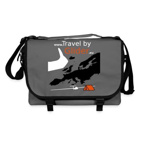 TravelByGlider_Shirt_Logo - Umhängetasche
