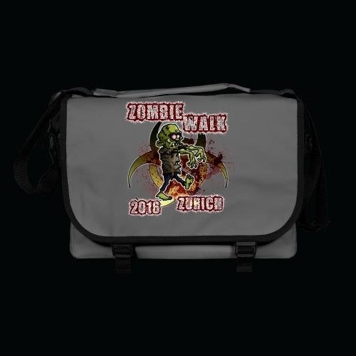 shirt zombie walk3 - Umhängetasche