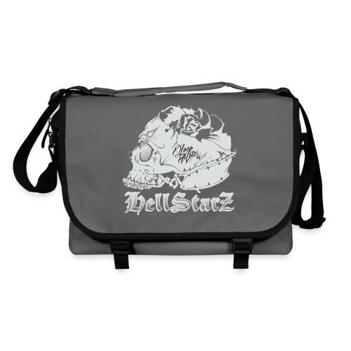 HELLSTARZ Skull Logo - Sac à bandoulière