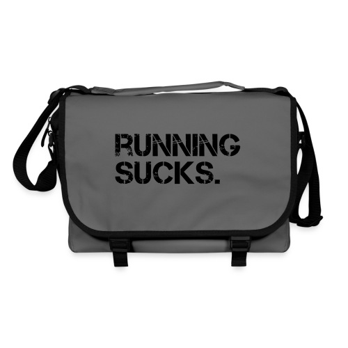 Running Sucks - Umhängetasche