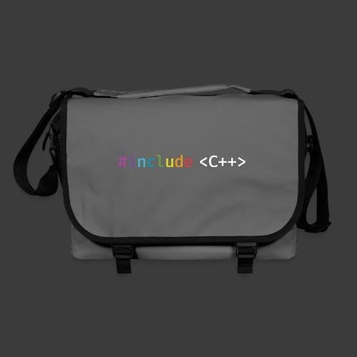rainbow for dark background - Shoulder Bag