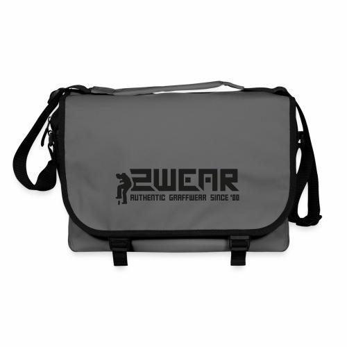 2wear org scrab logo wt √ - Skuldertaske