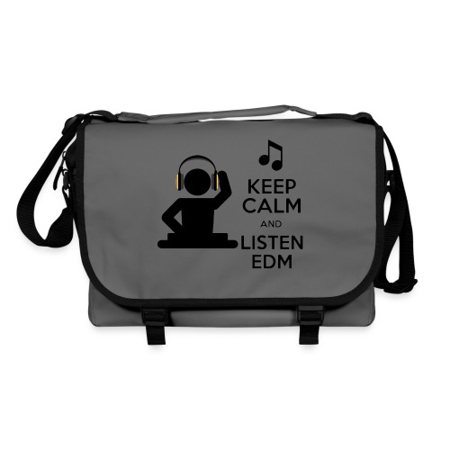 keep calm and listen edm - Shoulder Bag