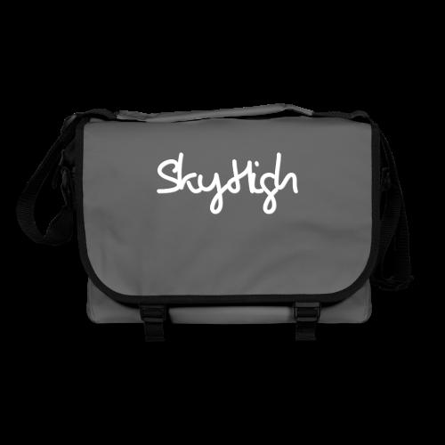 SkyHigh - Women's Chill Shirt - White Lettering - Shoulder Bag