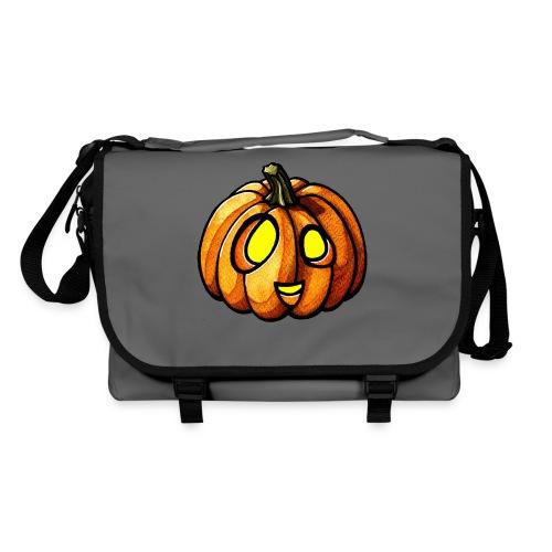 Pumpkin Halloween watercolor scribblesirii - Umhängetasche
