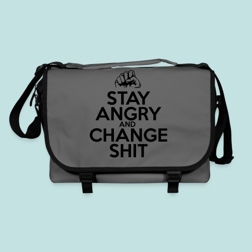 Stay Angry - Shoulder Bag