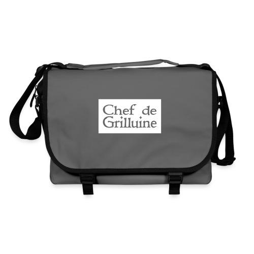 Chef de Grilluine - der Chef am Grill - Umhängetasche