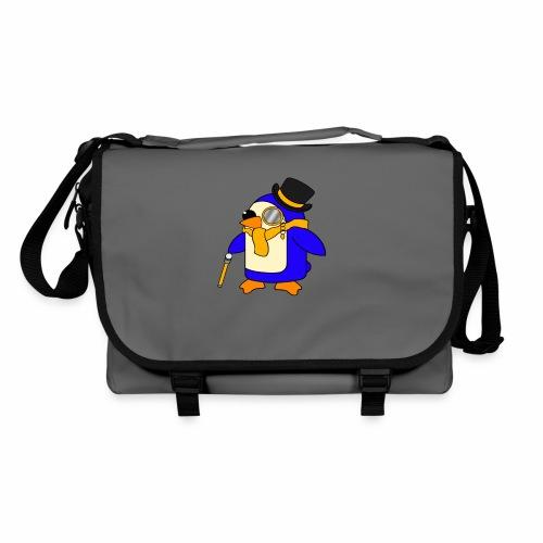 Cute Posh Sunny Yellow Penguin - Shoulder Bag