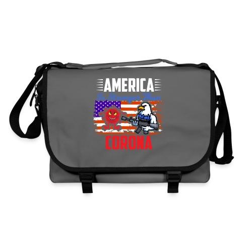 America against Corona - Umhängetasche