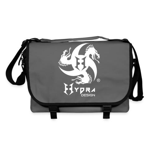 Hydra DESIGN - logo white - Tracolla