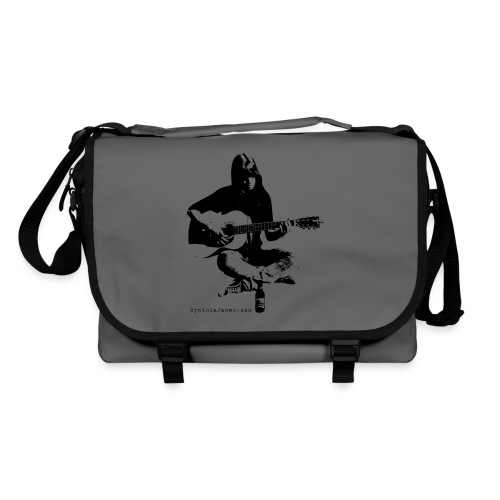 Cynthia Janes guitar BLACK - Shoulder Bag