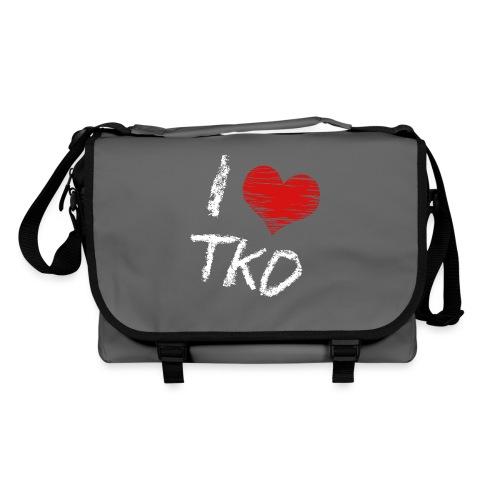 I love tkd letras blancas - Bolso de bandolera