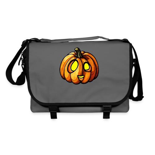 Pumpkin Halloween watercolor scribblesirii - Olkalaukku