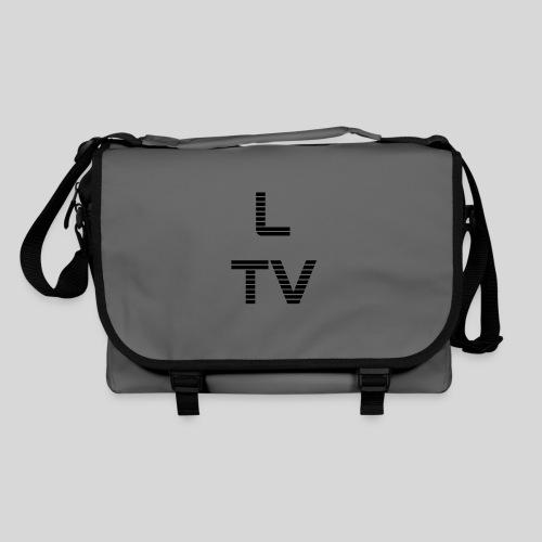 LasertagTVProfilbildtransschwarz png - Umhängetasche