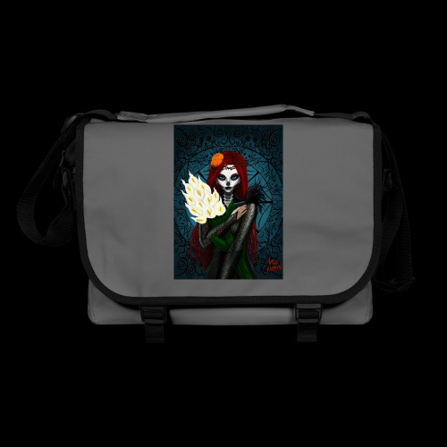 Death and lillies - Shoulder Bag