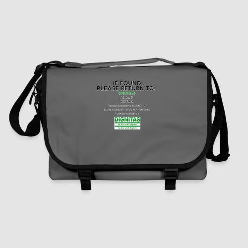 Dignitas - If found please return joke design - Shoulder Bag
