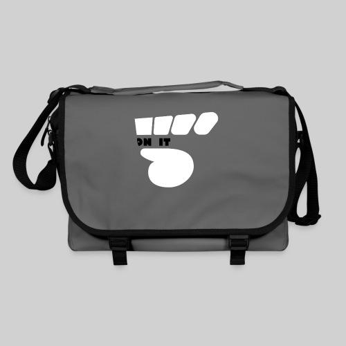 Logo 5 on It blanc / noir - Sac à bandoulière